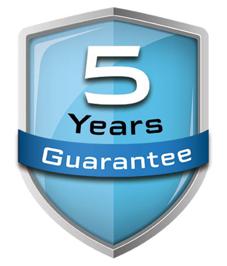 GENESIX 5 year guarantee